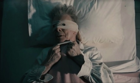 Bowie on deathbed